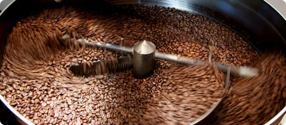 kávépörkölő dob