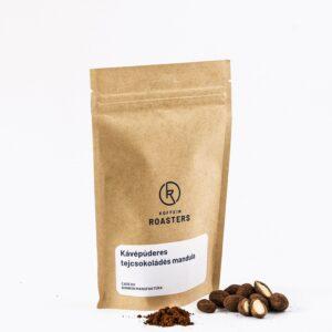 Kávépúderes mandula drazsé
