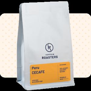 Peru specialty kávé