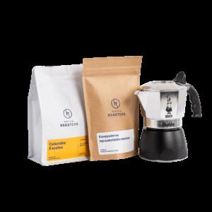 Kávé és kávéfőző