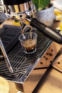 espresso kávé elkészítése